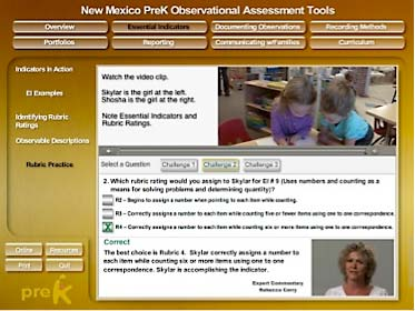 PreK Training Embedded Q&A - MediaDesigns, Inc.