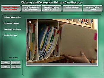 Diabetes & Depression - Primary Care Providers - MediaDesigns, Inc.