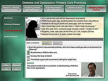 Diabetes & Depression - Case-based Training - MediaDesigns, Inc.