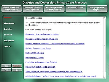Diabetes & Depression - Resources - MediaDesigns, Inc.
