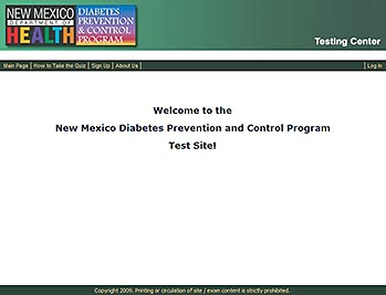 Diabetes & Depression - Testing / Certification - MediaDesigns, Inc.